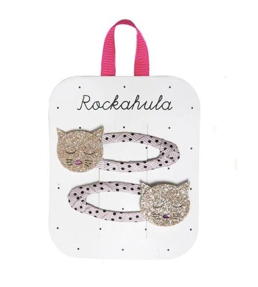 Cleo Cat Hair Clips - ROCKAHULA KIDS