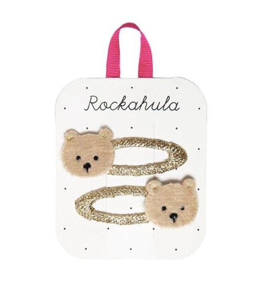 Teddy Bear Clips - Rockahula Kids