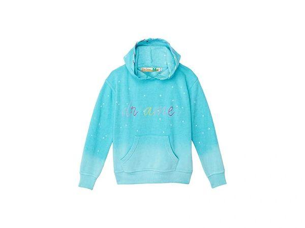 Acid Turquoise Hoodie w/DREAMER Embroidery - VINTAGE HAVANA KIDS