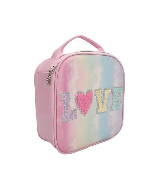 TIE DYE LOVE HEART LUNCH BAG - OMG ACCESSORIES