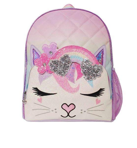 Bella Rainbow Flower Crown Large Backpack - OMG ACCESSORIES