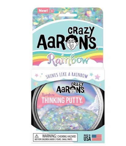 Shines Like a Rainbow - Crazy Aaron's Thinking Putty