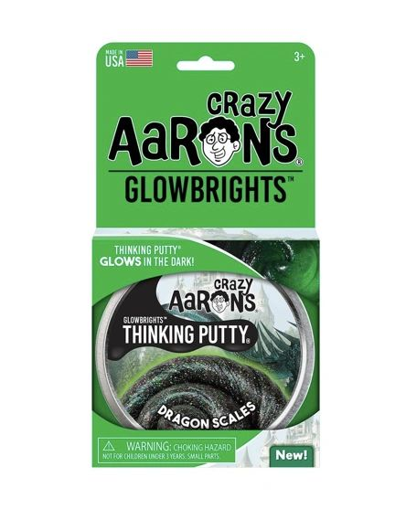 DRAGON SCALES - Crazy Aaron's GLOWBRIGHT Thinking Putty