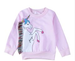 Unicorn Fringe Sweatshirt
