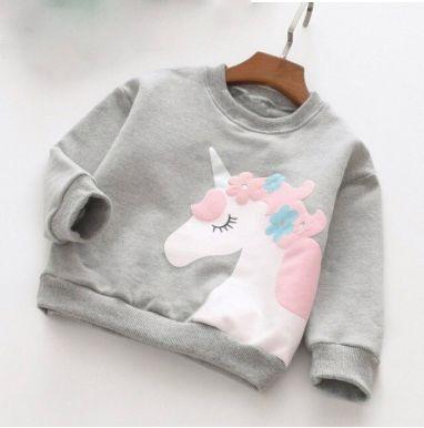 Unicorn Printed Sweatshirt