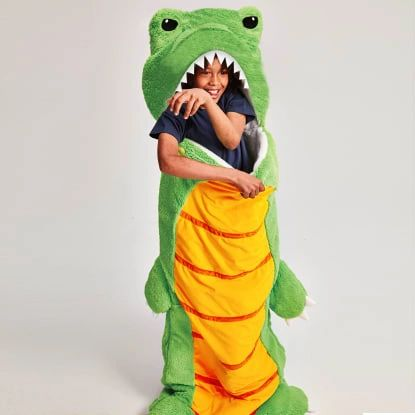 Dinosaur Furry Sleeping Bag - Iscream
