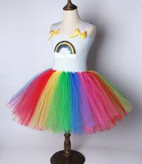 Sequin Rainbow Tutu Dress