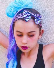 Mermaid Metallic Bow Headband
