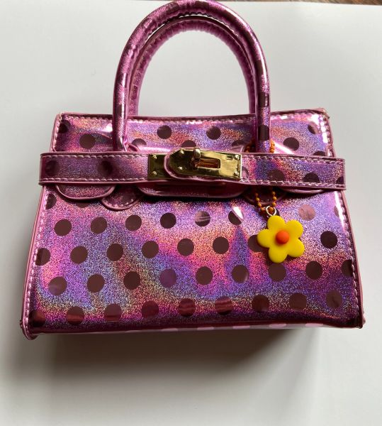 Polka Dot Mini Birkin Bag