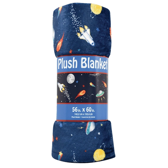 Space Plush Blanket