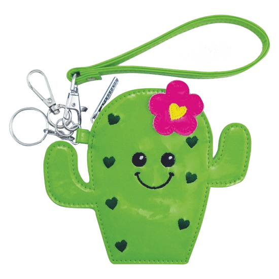 Cactus Cutie Purse Key Chain