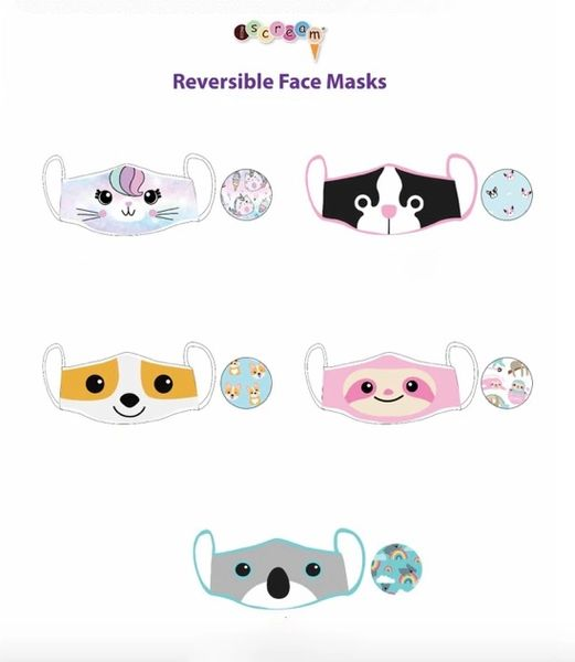 Reversible Face Masks