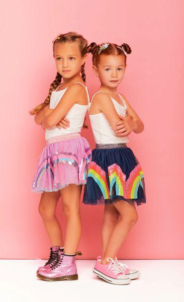 Sequin Rainbow Tutu Skirt