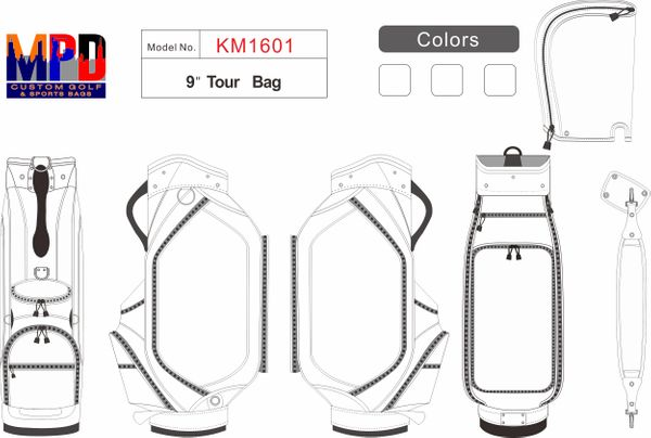 MPD Custom Tour Bag - Pro 1601