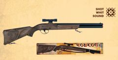 """Gonher Cowboy Style Electronic Sound Shotgun 26"""" Long with Scope"""