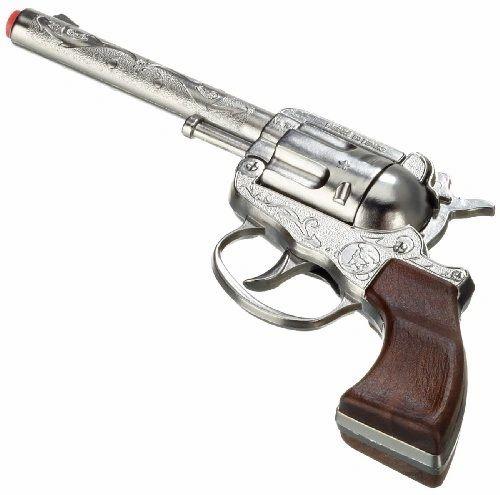 Gonher Classic Cowboy 100 Paper Roll Cap Gun Revolver