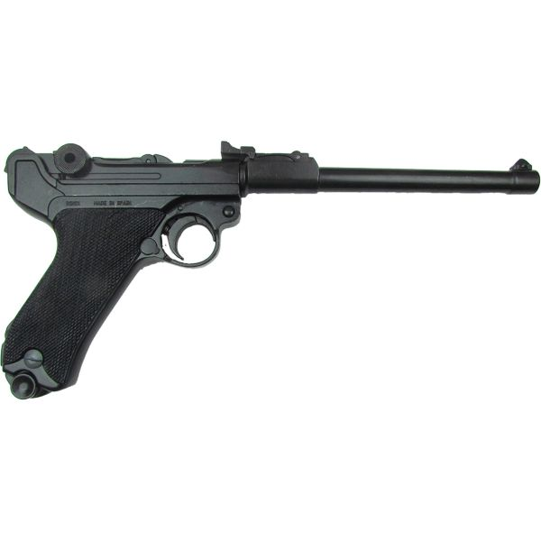 Denix German Luger Lange Pistole 08 Artillery Model Non-Firing Replica