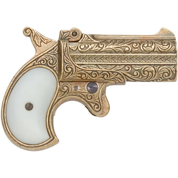 Old West Replica 1866 Double Barrel Derringer - Non Firing