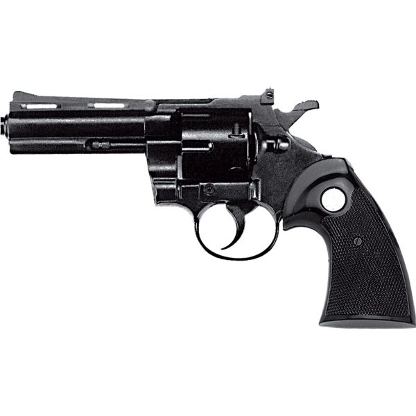 Kimar Python .380 / 9mm Blank Firing Revolver - Black Finish