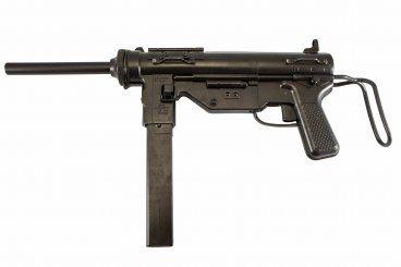 "Denix Non-Firing Replica US ""Grease Gun"" .45 Submachine Gun"