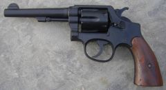 "S&W 5"" Barrel Military & Police Revolver British Lend Lease .38 Special"