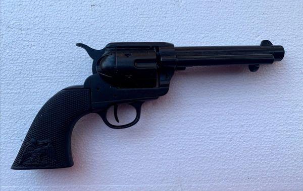 "Denix Replica 1873 Western Frontier Black Finish 5.5"" Barrel with Composite Black Grips"