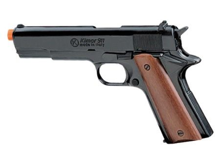1911 .45 Automatic 9mm Blank Front Firing Pistol by KIMAR