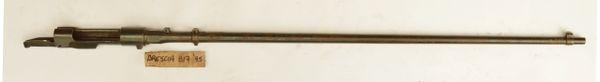 M91 Carcano Rifle 817 Barreled Action Brescia 1895 WWI