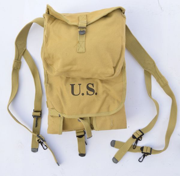 WWII US Army M1928 Haversack Reproduction