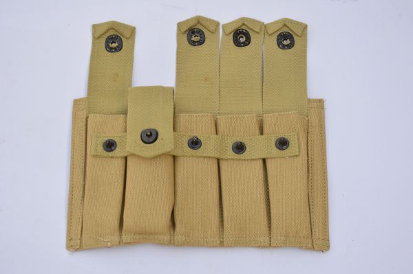 WWII US Army Thompson SMG 5 Pocket 20 Round Magazine Carrier Reproduction