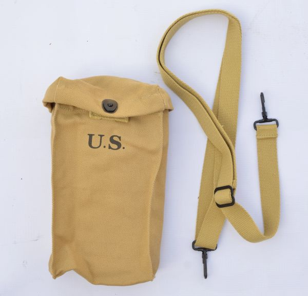 WWII US Army Paratroopers Thompson SMG 30Rds Magazine Bag Reproduction