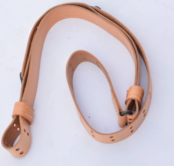 WWI – WWII Army M1907 Leather Rifle Sling Reproduction