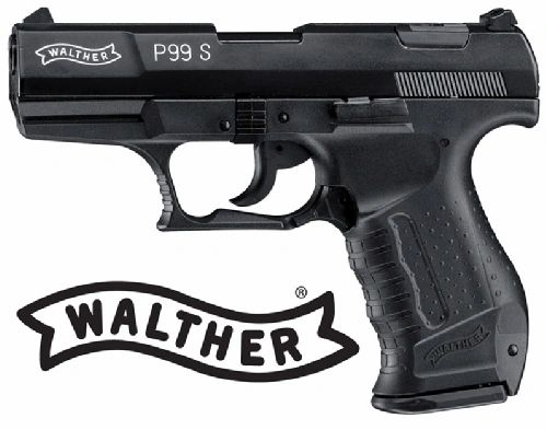 Walther P99 Blank Front Firing Pistol - Black by Umarex