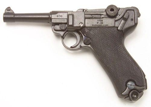 WWII Classic German P-08 Luger, Non-Firing Gun