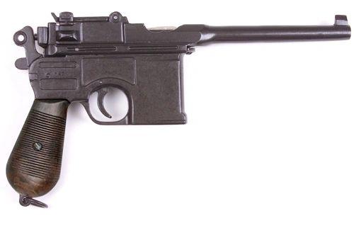 WWII 1896 Mauser Automatic Pistol, Non-Firing Gun