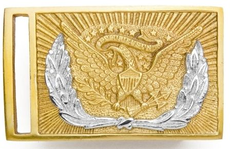 Civil War Belt Buckle For Sword Belt