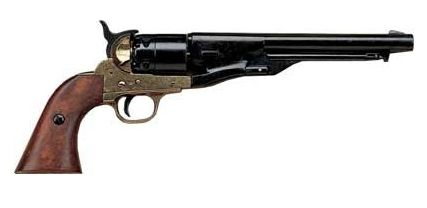 Civil War M1860 Brass Finish Pistol