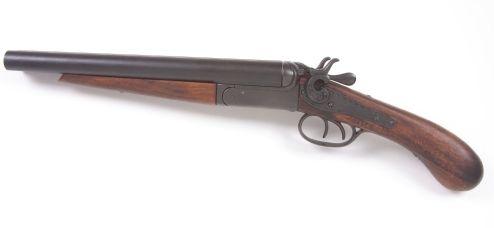 Double Barrel M1881 Street Howitzer Pistol