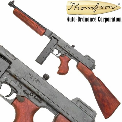 M1928 Military Version Thompson Submachine Gun Non-Firing