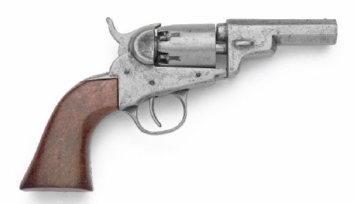 Old West Replica M1849 Grey Finish Pocket Revolver