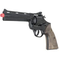 Colt Python Black Finish Cap Revolver 12 shot by Gonher of Spain