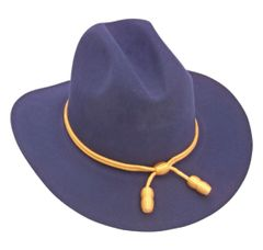 Civil War Union Officer's Slouch Hat with Cavalry Cord