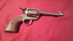 COLT 1873 Blank Firing Frontier Revolver Nickle FInish by Bruni