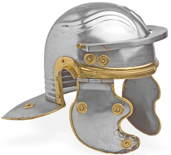Classic Roman Leggionaire Trooper Steel Helmet Replica