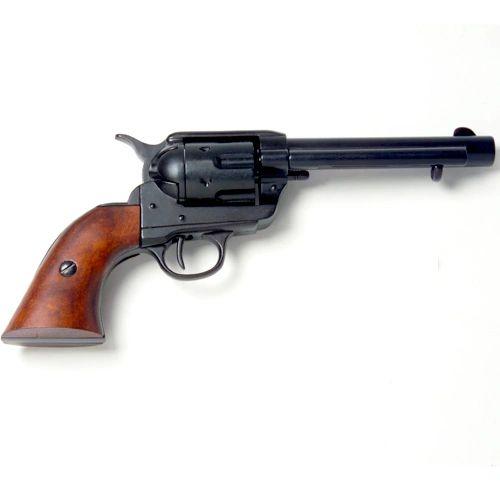 "Old West Frontier Black Finish 5.5"" Revolver Caps Firing Replica Gun"