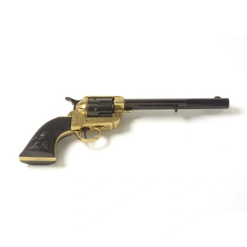 Old West Dual Tone Finish Cavalry Non-Firing Replica Revolver