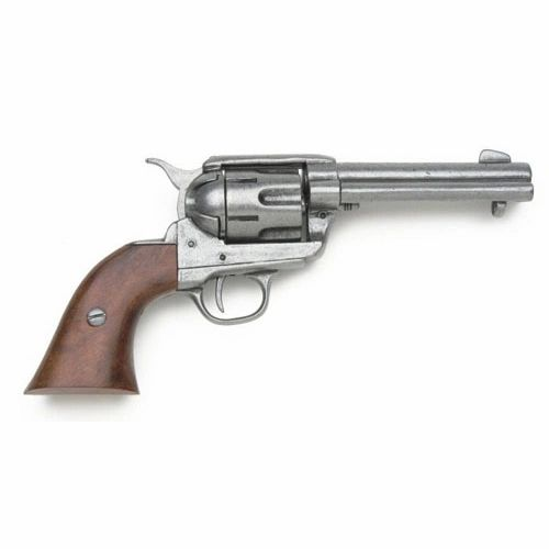 Old West Replica 1873 Antique Finish Quick Draw Revolver Non-Firing Gun