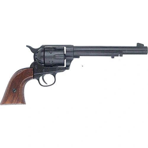 Old West 1873 Black Finish Cavalry Pistol Non-Firing Gun