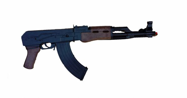 Gonher AK-47 Close Combat Model 8 Shot Cap Assault Gun Rifle - Black Finish