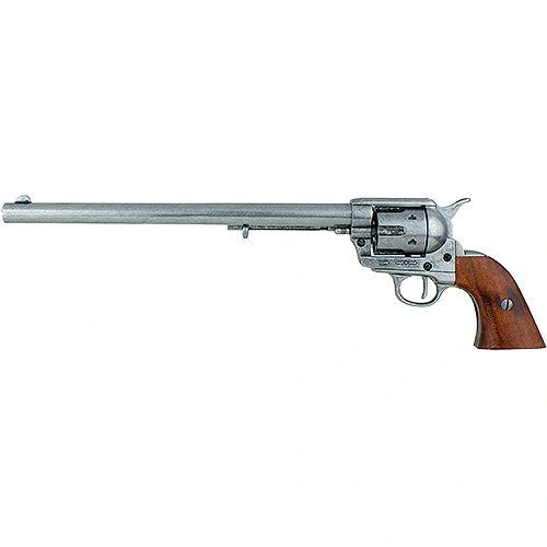 """1873 Single Action Buntline Special 17.5"""" Revolver Non-Firing Gun - Grey"""